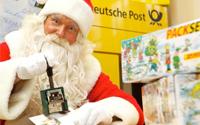 Deutsche Post: Wunschzettel an Weihnachtsmann schreiben